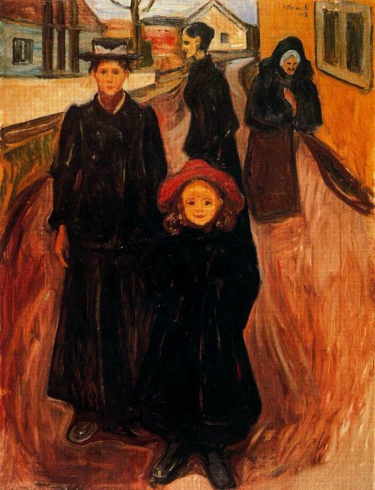 Четыре возраста в жизни. 1902