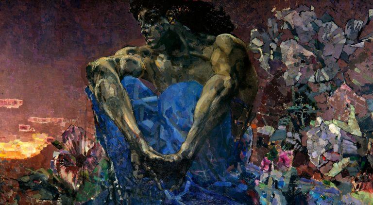 Демон сидящий. 1890