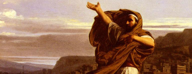 Демосфен, упражняющийся в ораторском искусстве. 1870