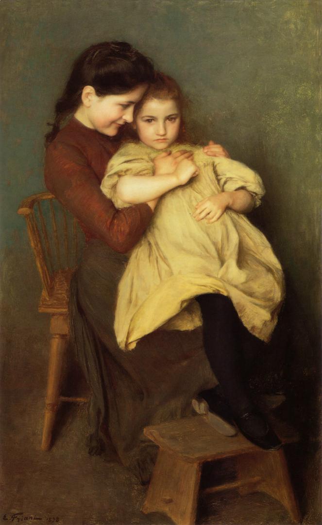 Детская печаль. 1898