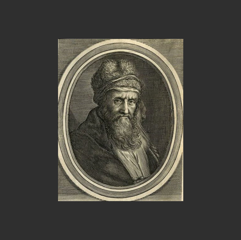 Диоген Лаэртский. Гравюра XVII в.