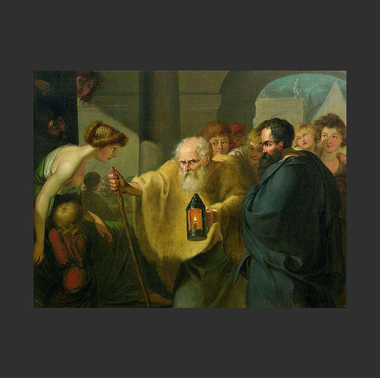 Диоген ищет человека. Ок. 1780