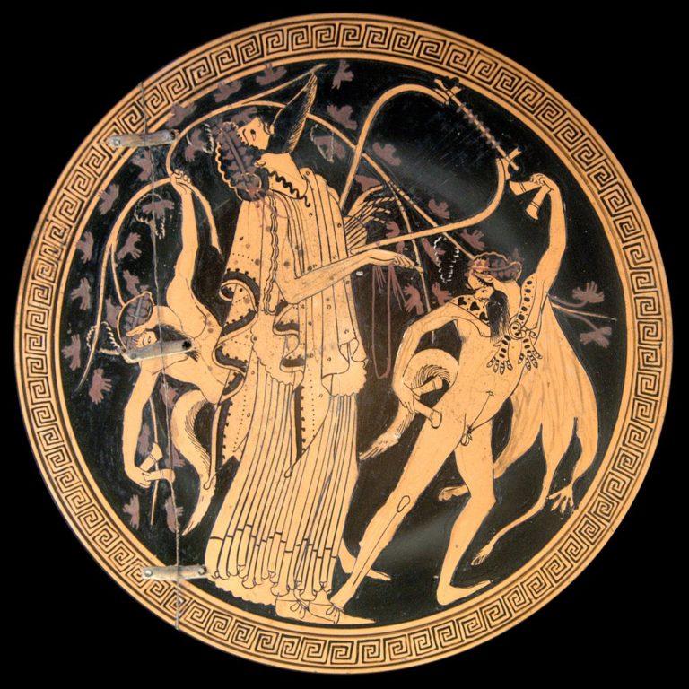 Дионис и сатиры. Ок. 480 до н. э.