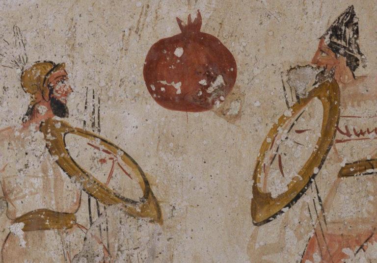 Поединок. Фрагмент. 2-я пол. IV в. до н.э.