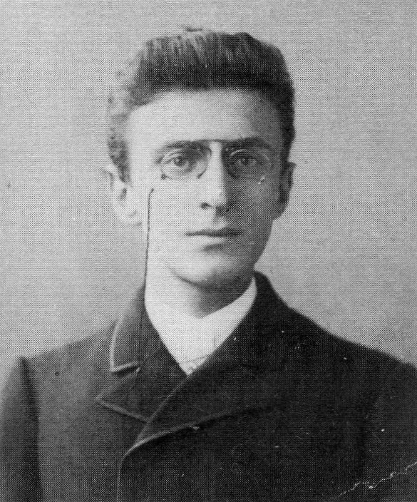 Эдуард Норден (1868–1941). Фото 1888 г.