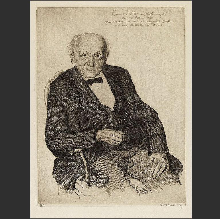 Эдуард Целлер. 1906