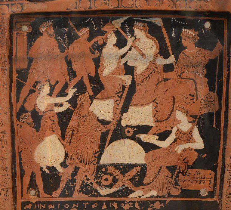 Элевсинские мистерии. Сер. IV в. до н.э.