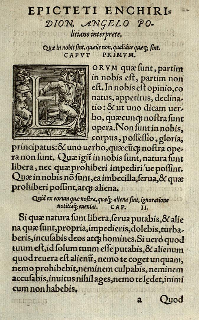 Эпиктет. Энхиридион. 1554