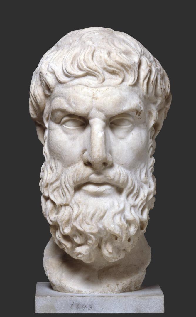 Эпикур (341–270 гг. до н.э.). 120-140 гг. н.э.