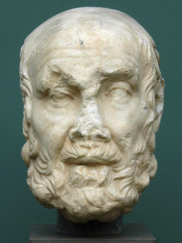 Философ-стоик Клеанф (333—231 гг. до н. э.). Ок. 100 г. н. э.