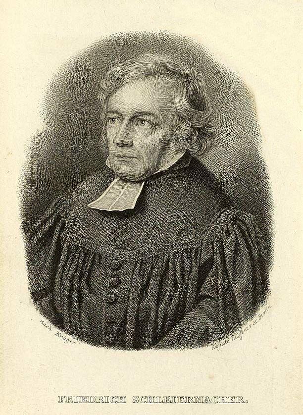 Фридрих Даниэль Эрнст Шлеермахер. 1838