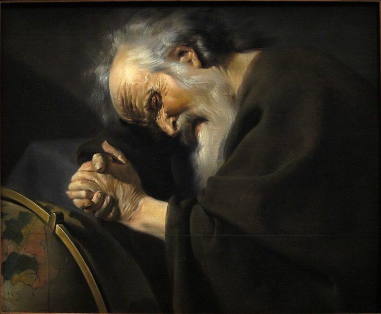 Гераклит Эфесский (544—483 гг. до н. э.). XVII в.