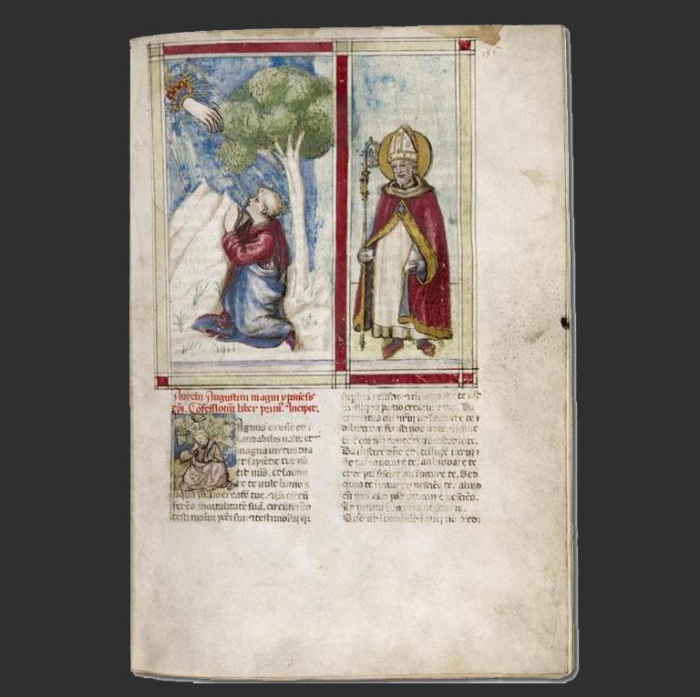 Августин. Исповедь. 1456-80