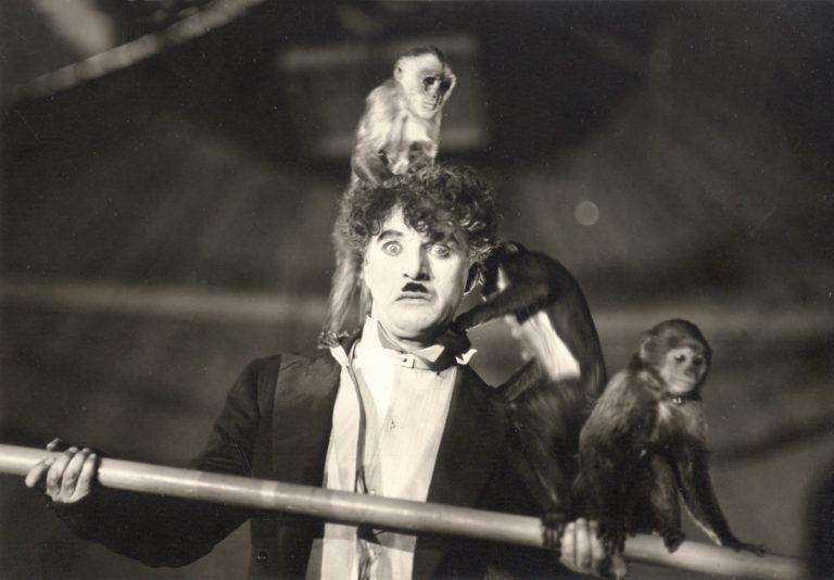 Кадр из фильма «Цирк». 1928