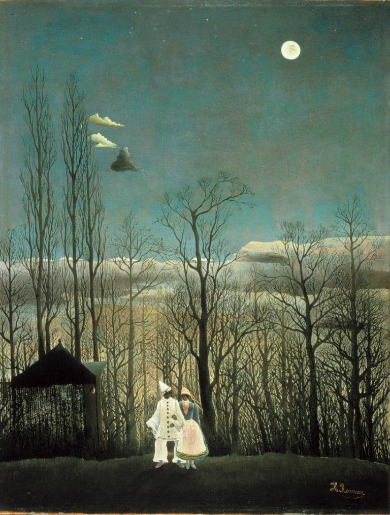 Карнавальный вечер. 1886