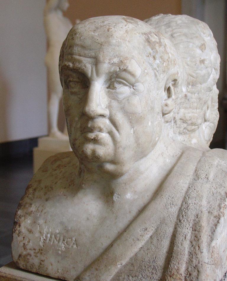 Луций Анней Сенека (лат. Lucius Annaeus Sĕnĕca minor; 4 г. до н.э. - 65 г. н.э.)
