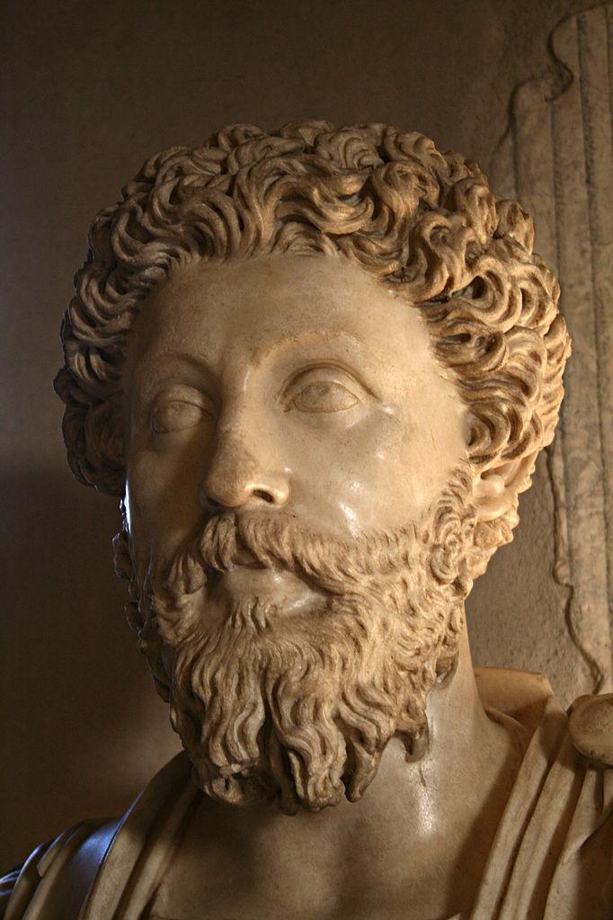 Марк Аврелий. Около 161 – 180 гг. н.э.