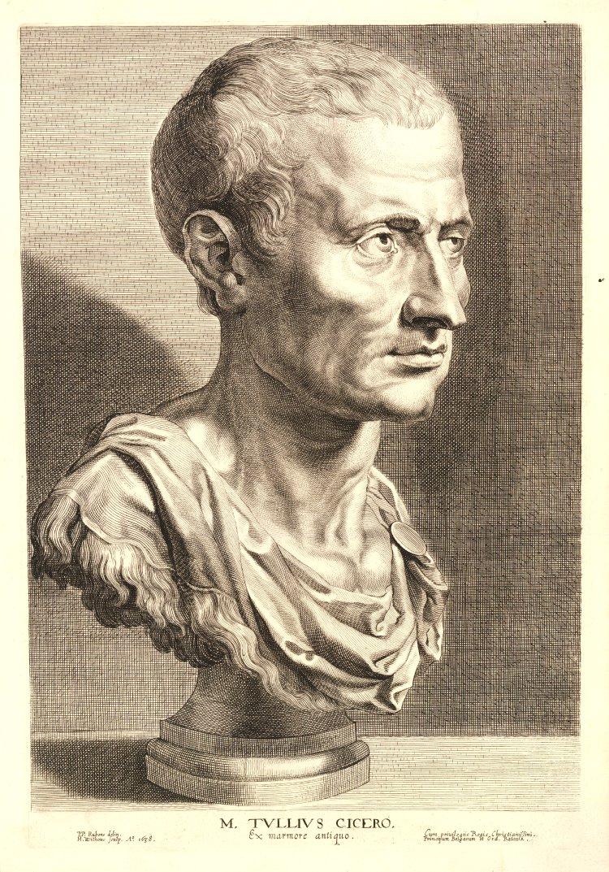 Марк Туллий Цицерон (лат. Marcus Tullius Cicerō; 106 — 43 гг. до н.э.). 1638