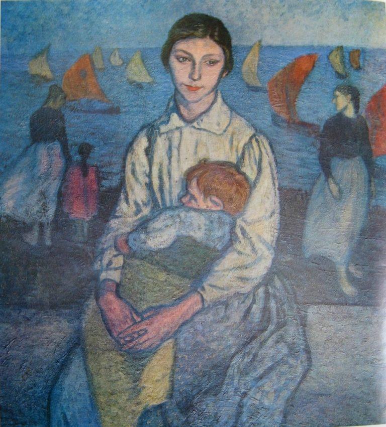 Материнская забота. 1916