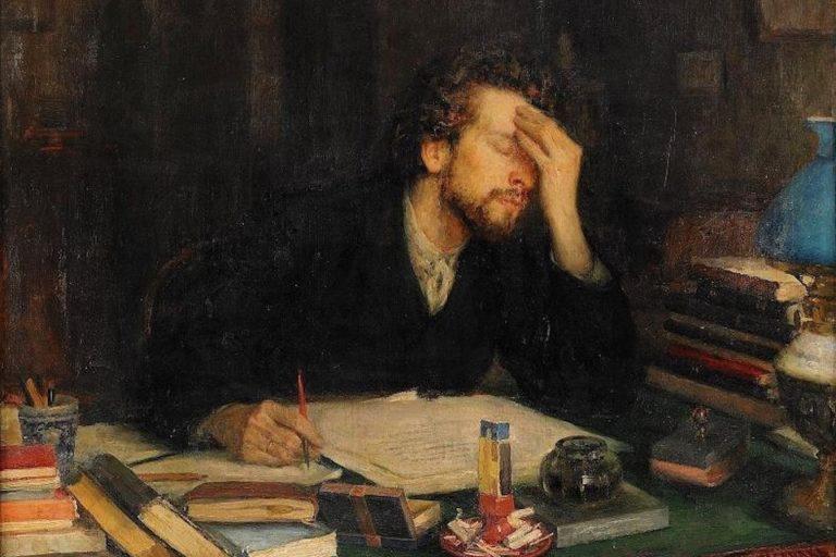 Муки творчества. 1892