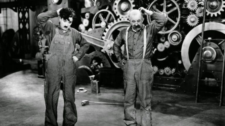 Новые времена. Кадр из фильма. 1936
