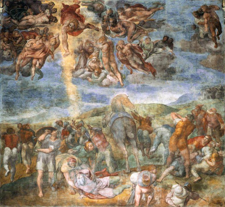 Обращение Савла. 1542–1545