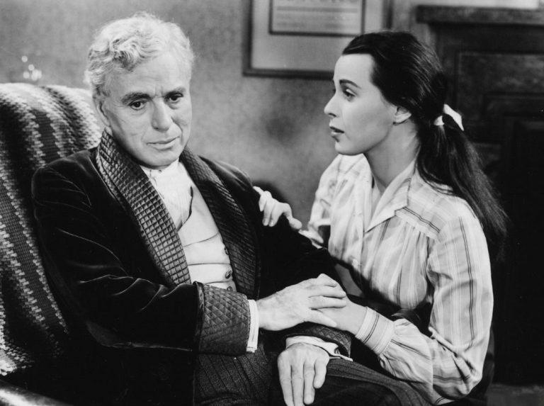 Огни рампы. Кадр из фильма. 1952