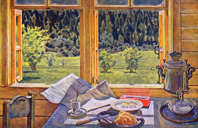 Окно в природу. Лигачево, май. 1928