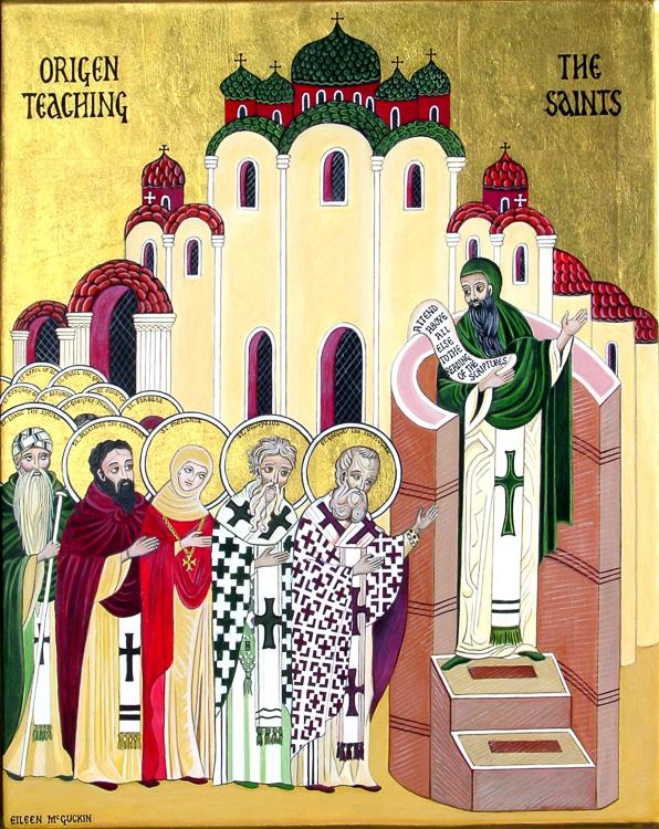 Ориген учит святых