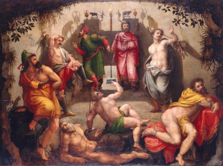 Пещера Платона. XVI в.