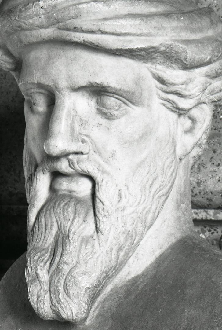Пифагор. Римская копия с греческого оригинала