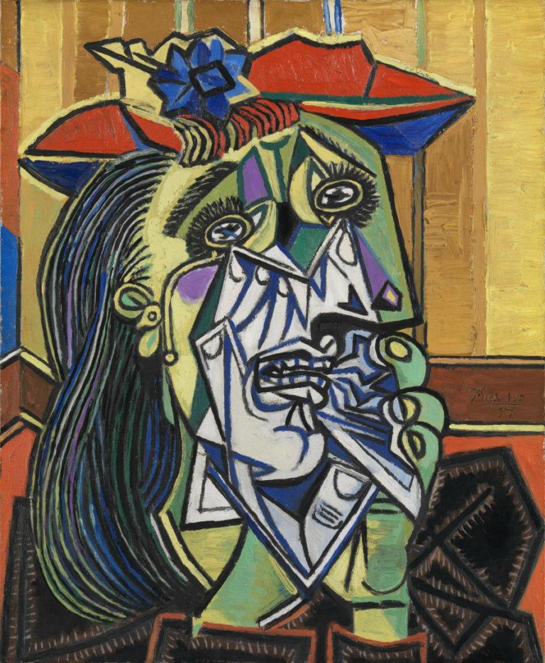 Плачущая женщина. 1937