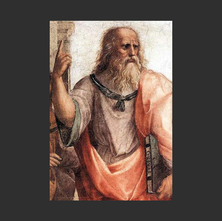 Платон, Афинская школа. 1511