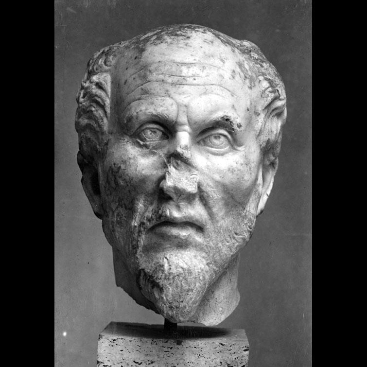 Плотин (205–270 гг. н.э.). 2-ая половина III в. н.э.