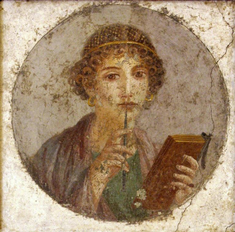 Поэтесса (или Сапфо). 55 - 79 годы н.э.