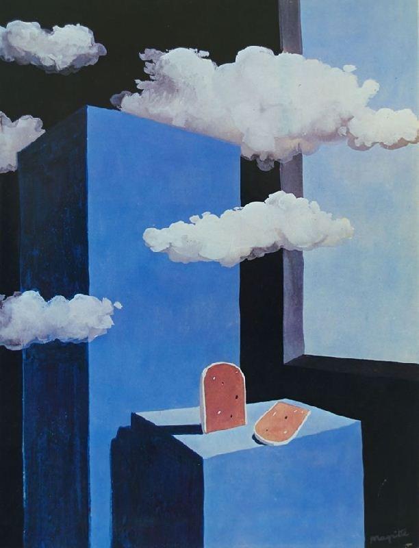 Поэтический мир II. Композиция с облаками и паштетом. 1939