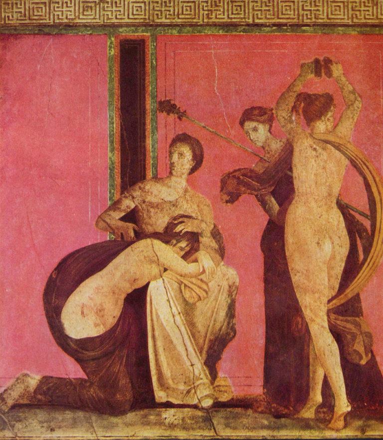 Посвящение в дионисийские таинства. Около 60 года до н.э.