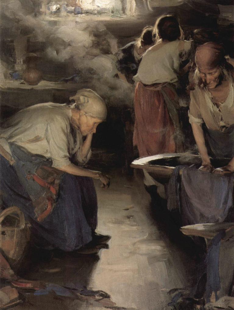 Прачки. 1901