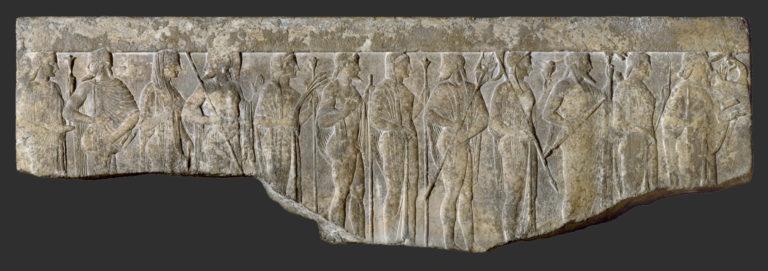 Процессия двенадцати богов и богинь. I в. до н.э. – I в. н.э.