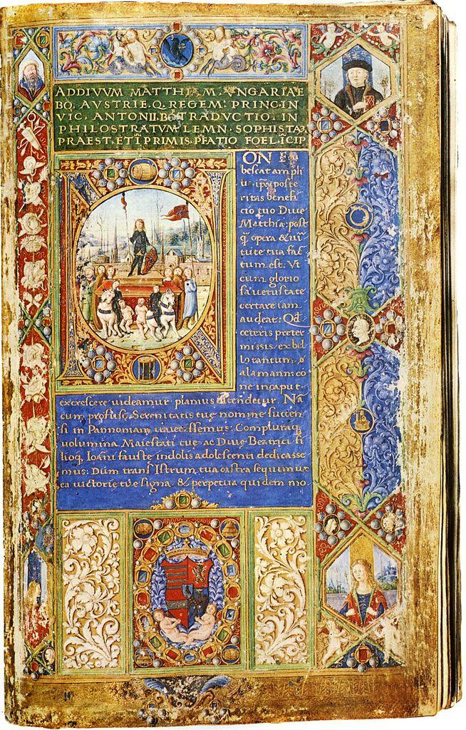 Работы Флавия Филострата. Ок. 1487-1490