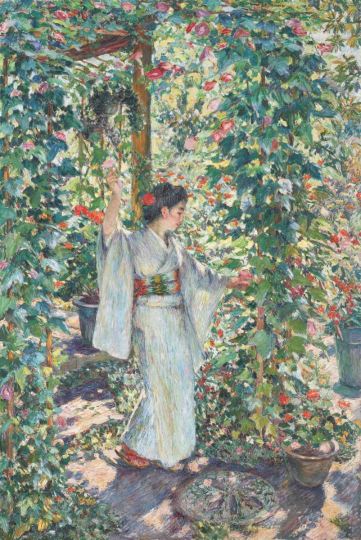 Радость утра (Ипомеи). 1920
