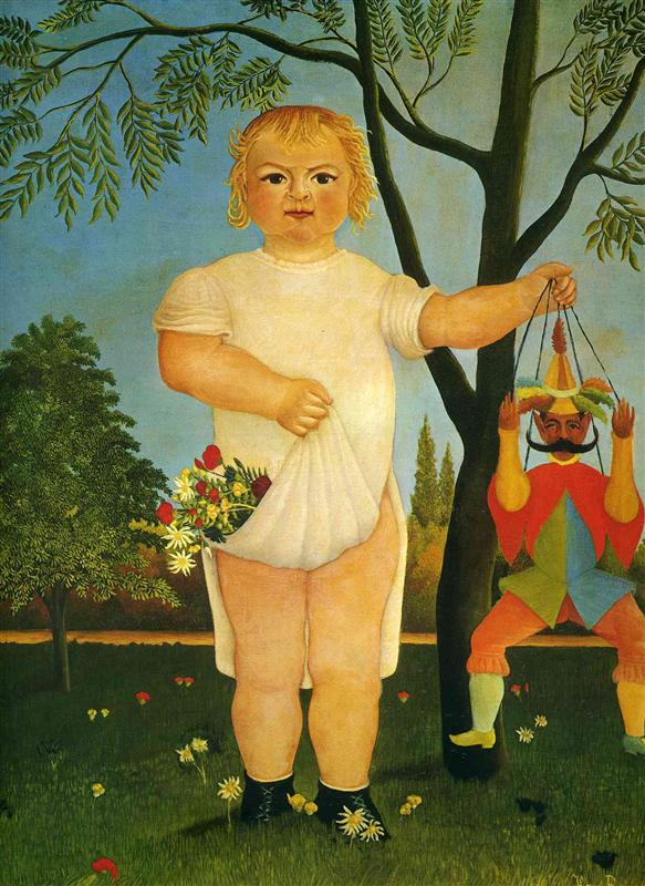 Ребёнок с марионеткой. 1903
