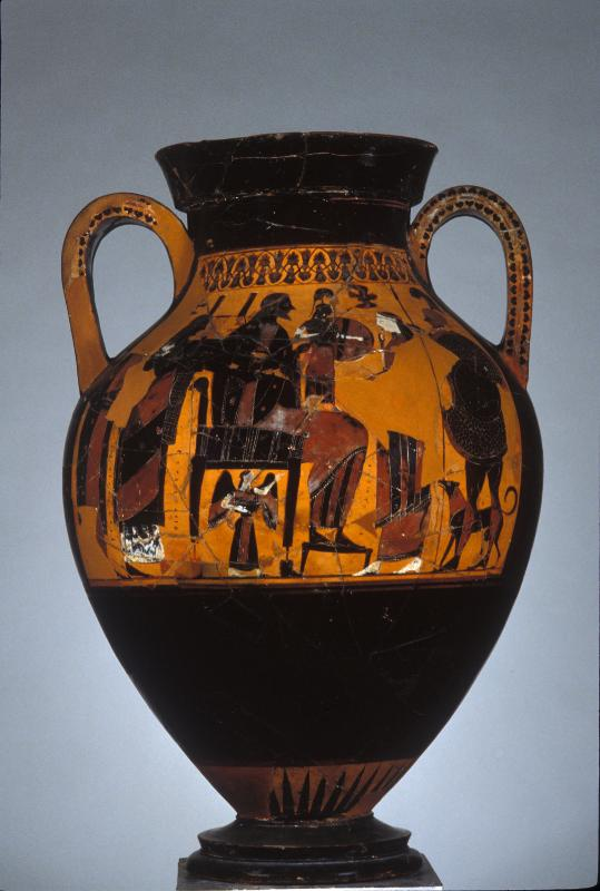 Рождение Афины из головы Зевса. 550-540 г. до н. э.