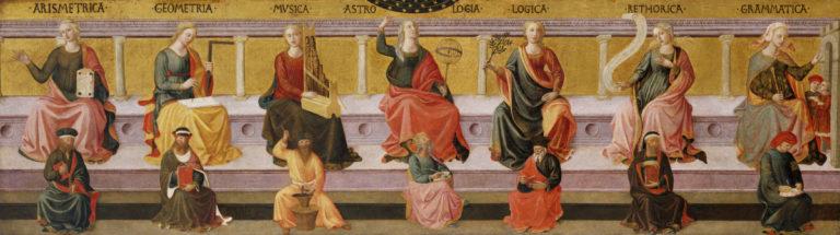 Семь свободных искусств. Ок. 1450