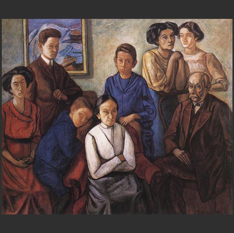 Семья. 1909