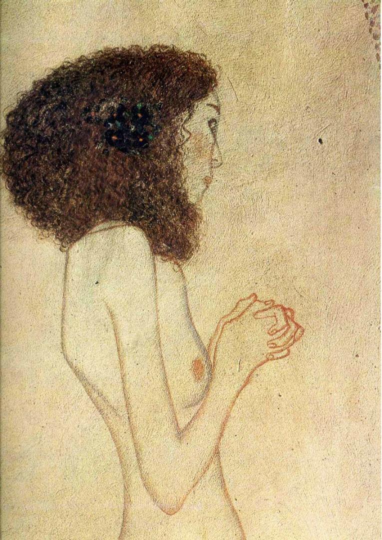 Слабость (Умоляющая девушка). 1902