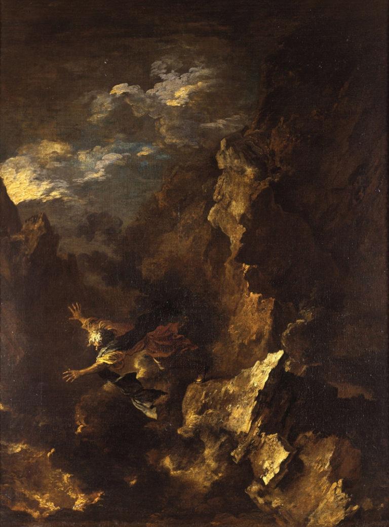 Смерть Эмпедокла. 1665 – 1670