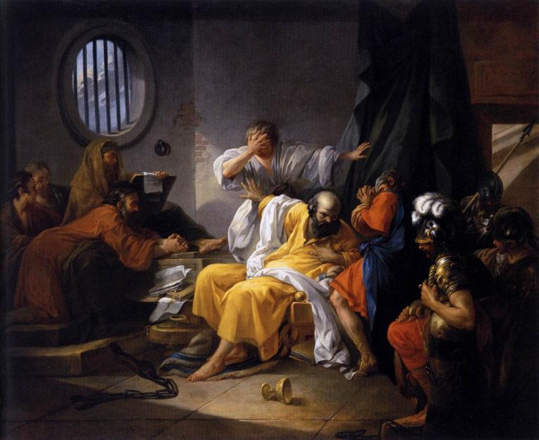 Смерть Сократа. 1762