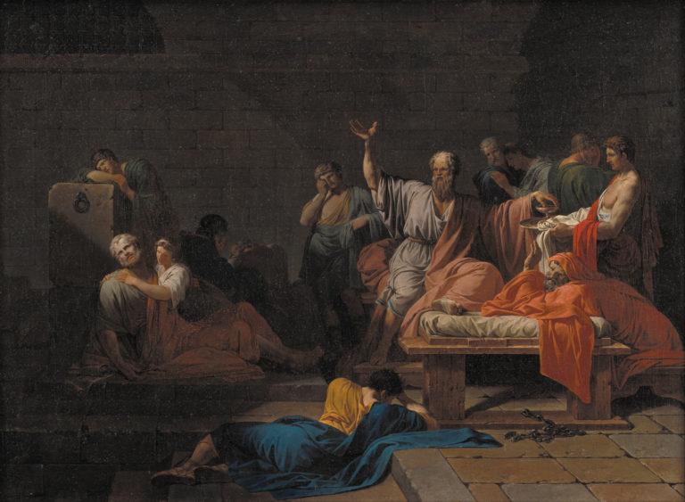 Смерть Сократа. 1787
