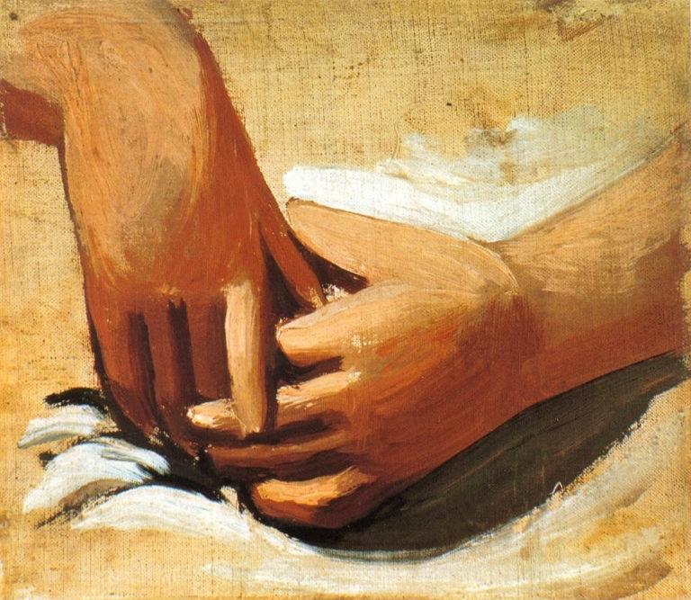 Соединённые руки. 1921